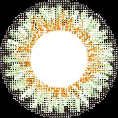 レヴィ 度ありでグリーンのLusterの拡大画像です。