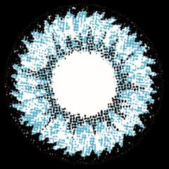 ロデオ 度なしでブルーのPINKYDEVILの拡大画像です。