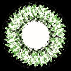 ロデオ 度なしでグリーンのPINKYDEVILの拡大画像です。